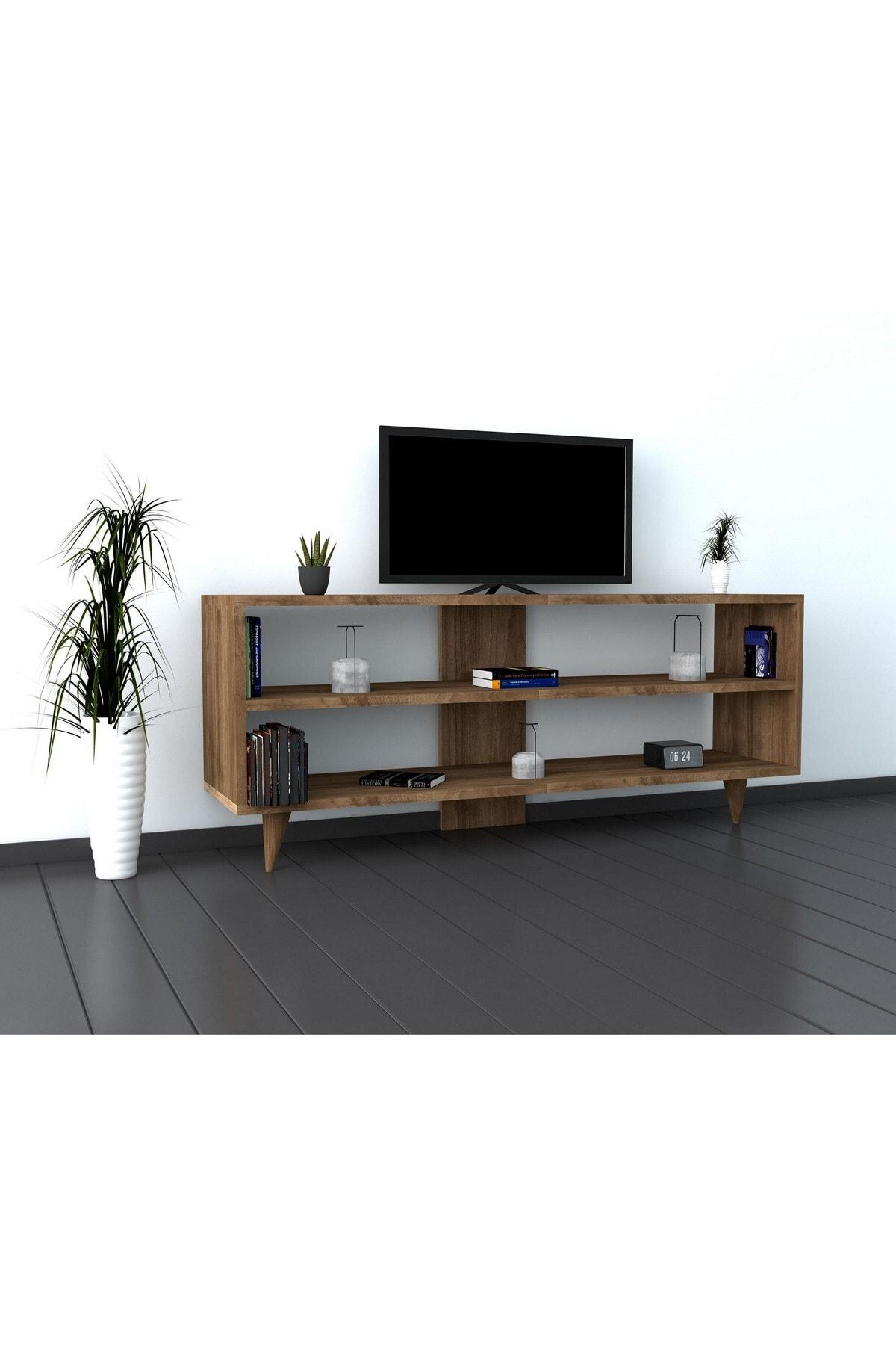 Puzzle Design One Ceviz Tv Ünitesi