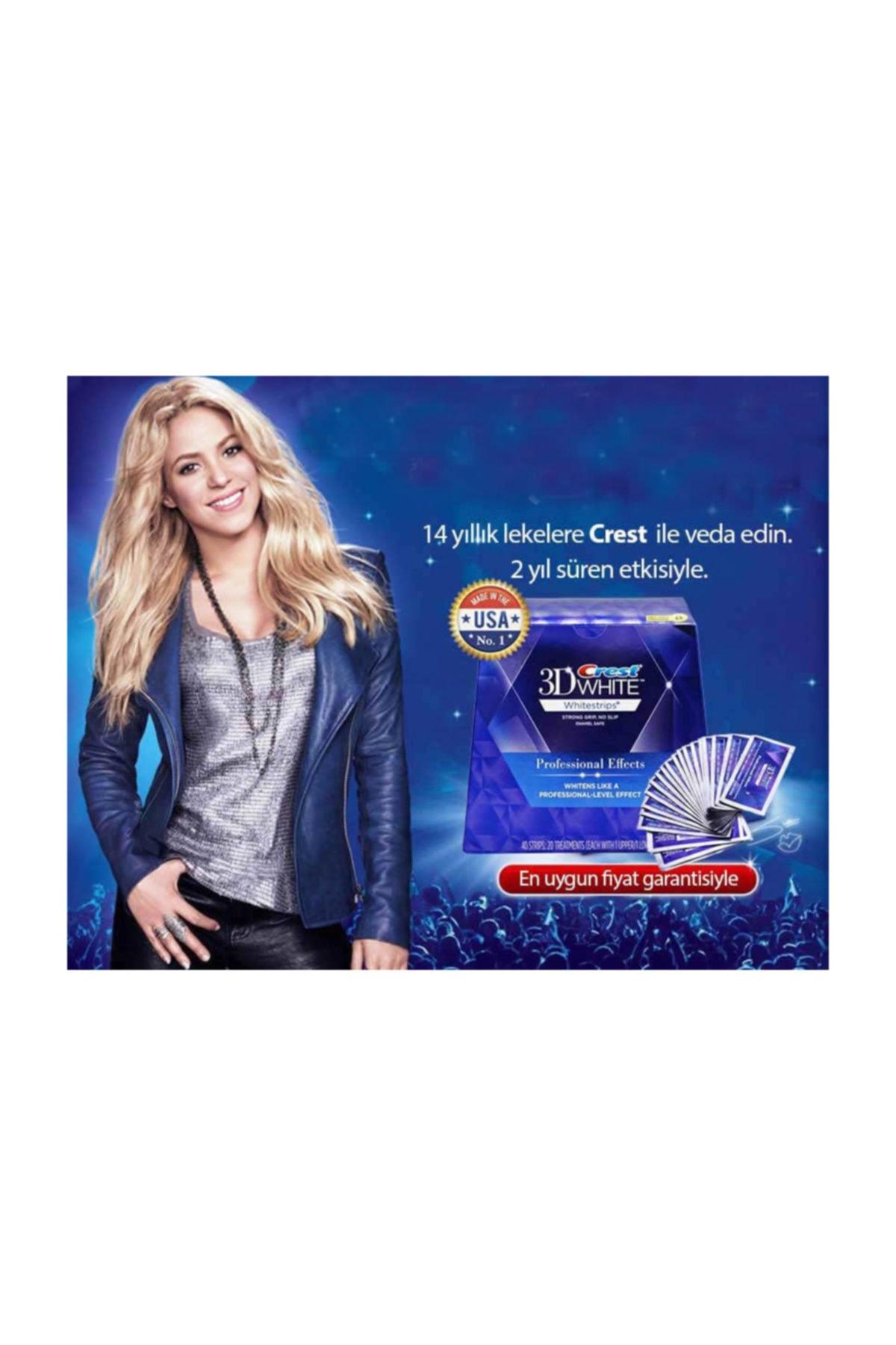 CREST 3d White Professional Effects Diş Beyazlatma Bantları (12 Bant) 2