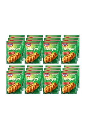 Dr. Oetker Instant Kuru Maya 10 gr X 24 Paket