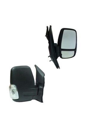 SPJ Ford Transit 2014-18 Otomatik Katlanır Sağ Dikiz Aynası Siyah