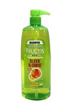 Garnier Fructis Şık Ve Parlatıcı Yoğun Pürüzsüz Kalıcı Saç Şampuanı 1,118 L