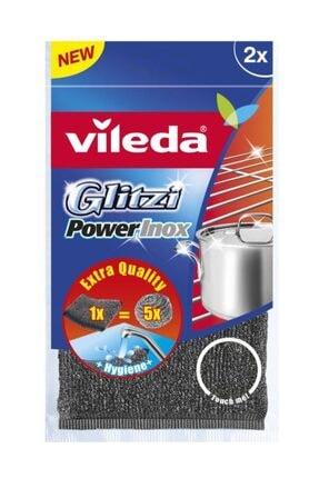 Vileda 2li Glitzi Power Çelik Tel