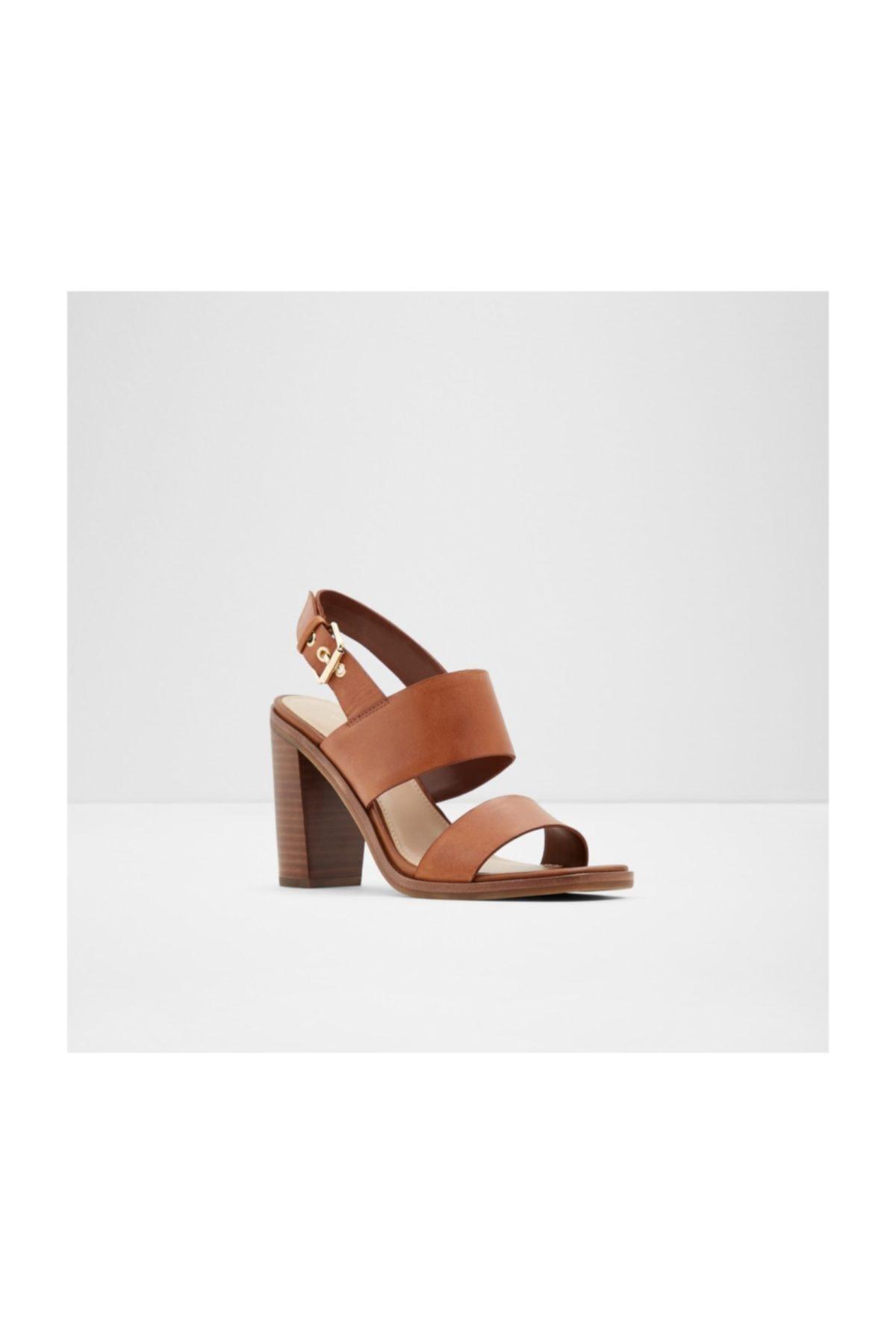 Aldo Kadın Taba Topuklu Sandalet 2
