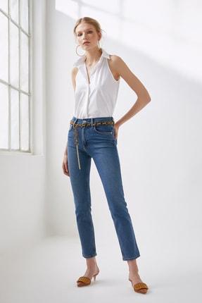 Urban Muse Kadın High Rise Slim Fit Jean URBAN1000