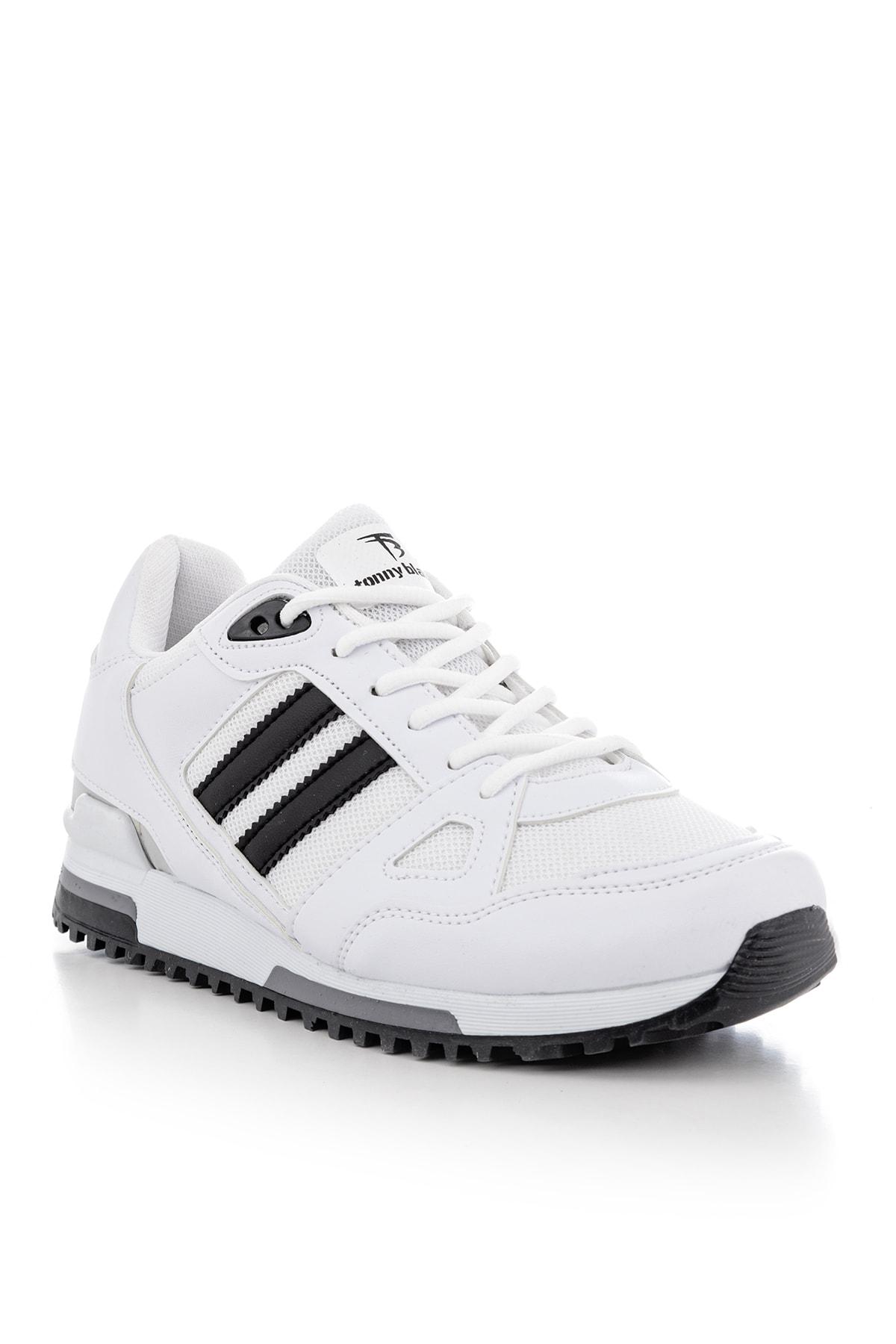 Tonny Black Beyaz Unisex Sneaker TB282-0