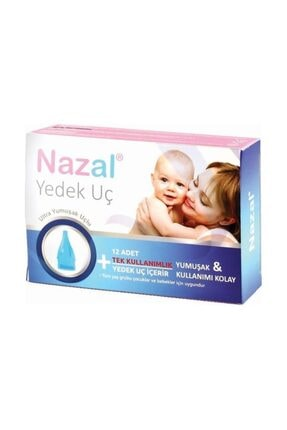 Nazar Otribebe Nazal Burun Aspiratör 12'li Yedek Uç otri Bebe Uyumlu 3 Paket