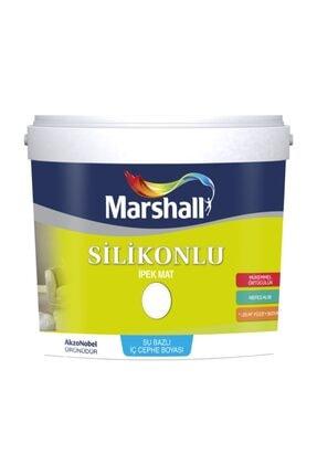 Marshall Ipek Mat Silikonlu Iç Cephe Duvar Boyası 2,5 lt Beyaz