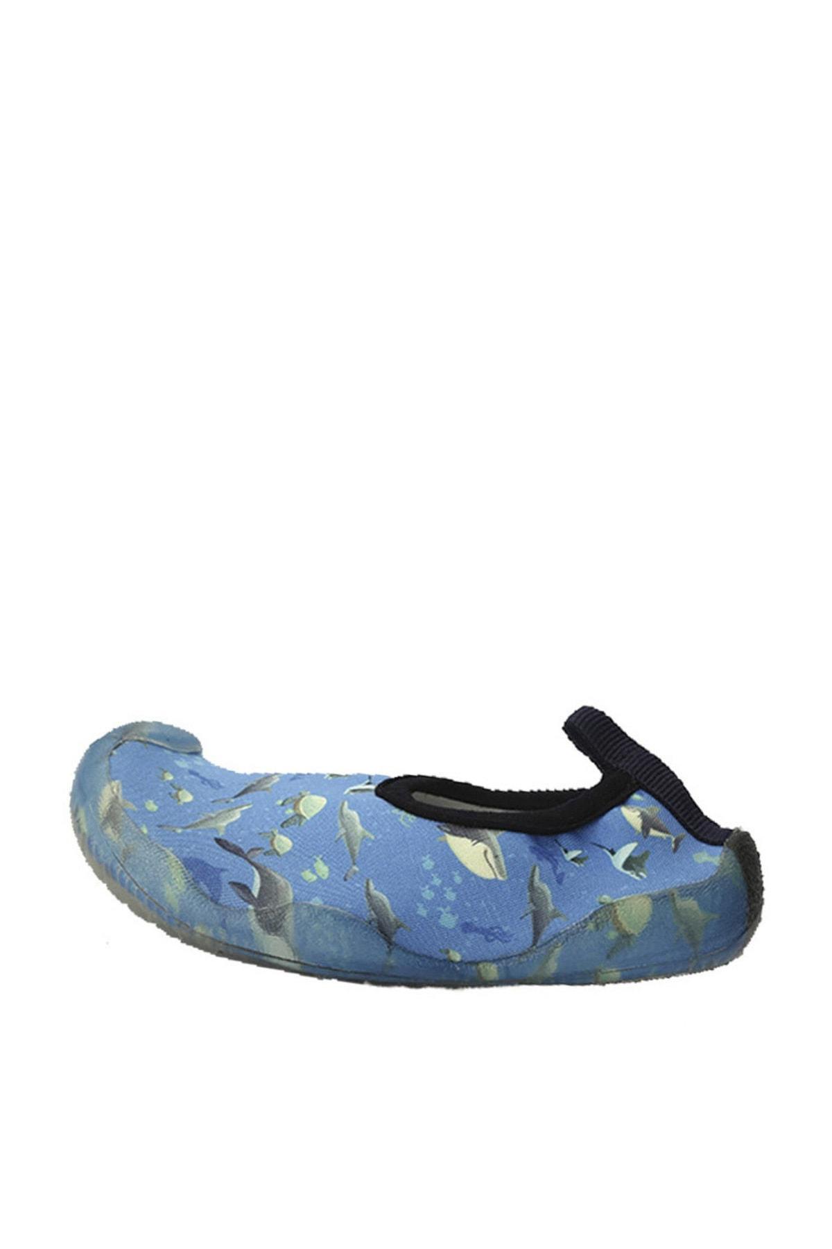 Newborn Erkek Çocuk Mavi Deniz Ayakkabısı 1