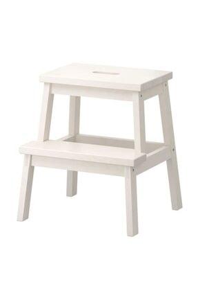 Area Online Bekvam Basamaklı Mutfak Tabure Merdiven - Beyaz