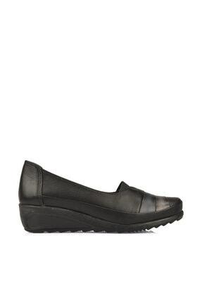 Ziya Kadın Hakiki Deri Ayakkabı 10155 2474 Siyah-Gri-Lacivert