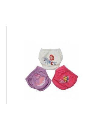 ModaTime 3 Lü %100 Pamuklu Yıkanabilir Kiz Bebek & Çocuk Alıştırma Kilodu