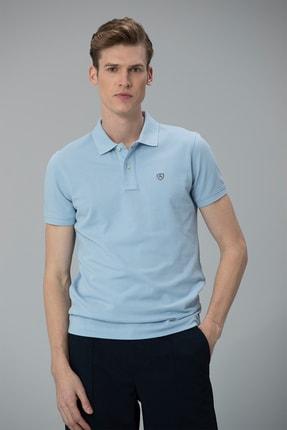Lufian Laon Spor Polo T- Shirt Açık Mavi