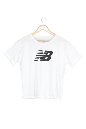 New Balance Spor T-Shirt - NB VOM TEE - V-WTT807-WT