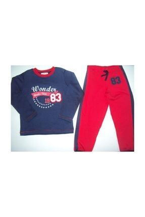 Wonder Kıds Erkek Çocuk Pijama Takımı