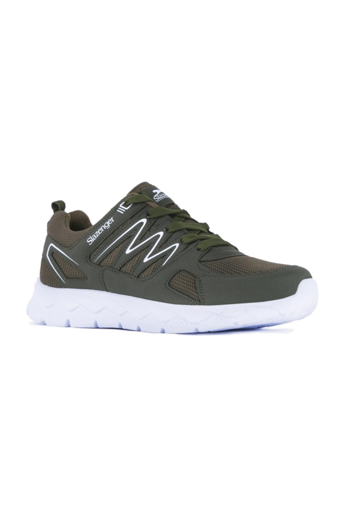 Slazenger Kronos Koşu & Yürüyüş Kadın Ayakkabı Haki 2