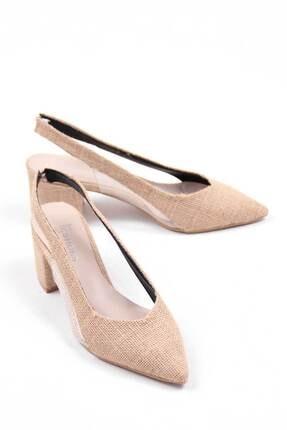 Oioi Bej Kadın Topuklu Ayakkabı 1003-119-0002_1023