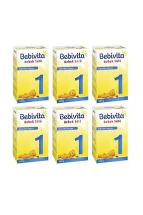 Bebivita 1 Bebek Sütü 500 Gr X 6 Adet