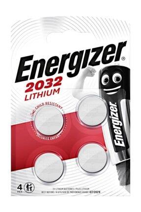 Energizer (a6-8357) Cr2032 Lityum Pil Ed2032-4 (4 Lü)