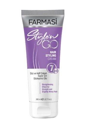 Farmasi Farması Style'n Go Düz Saçlar Için Saç Bakım Kremi 200 ml