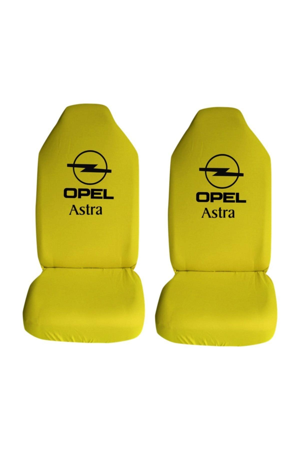 Modatools Opel Astra Ozel Araba Oto Koltuk Kilifi On Koltuklar Sari Penye Araca Ozel Baskili Trendyol