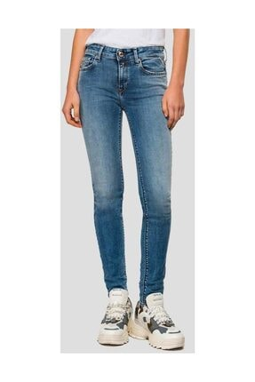 Replay Skinny High Waist Fit New Luz Jeans