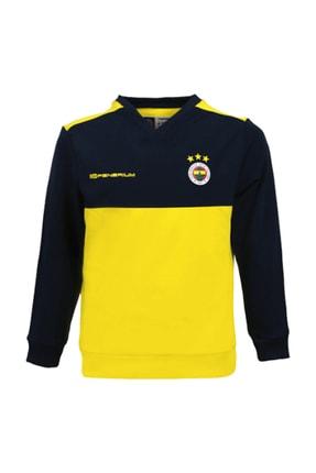 Fenerbahçe Fenerbahçe 2019/20 A Takım Futbolcu Antrenman Üstü Sweatshirt AT017C9S01