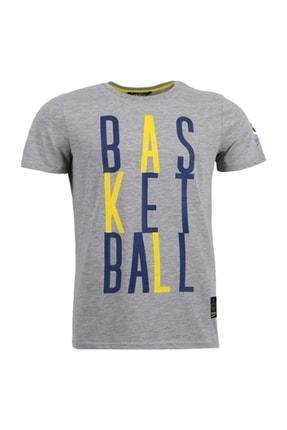 Fenerium Çocuk Fenerbahçe 19/20 Basketbol Blok Baskı T-Shirt TK010C9S12