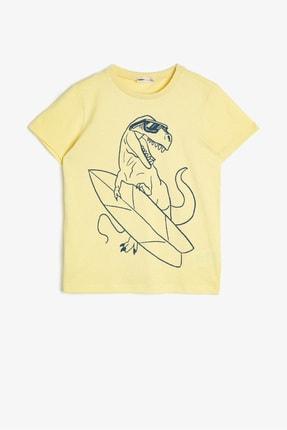 Koton Kids Sarı Erkek Çocuk T-Shirt