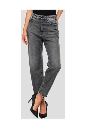 Replay Kadın Gri Mom Fit Tyna Jeans