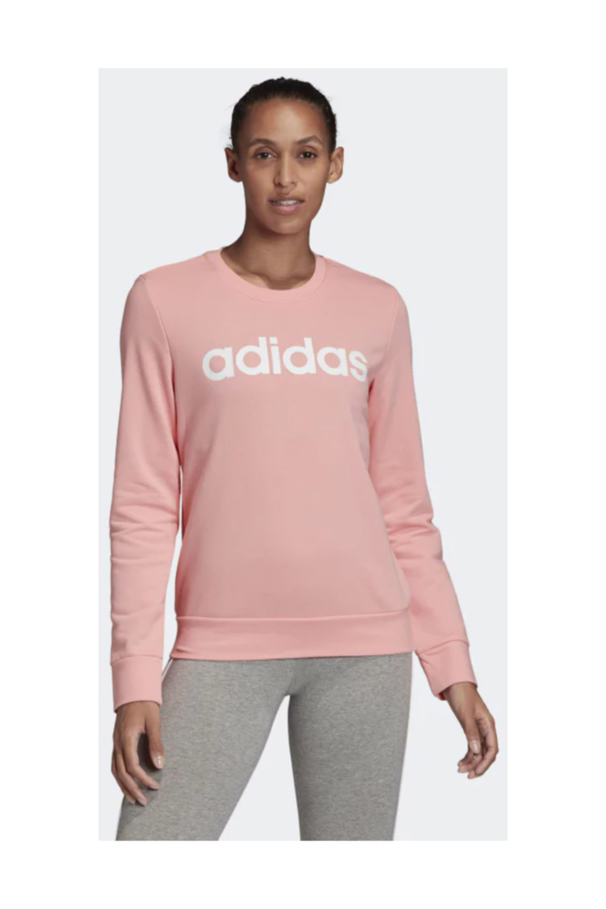 adidas Kadın Sweatshirt W E Lin Sweat Fm6433 1