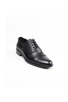 MARCOMEN Hakiki Deri 02053 Siyah Klasik Erkek Ayakkabı Siyah-39