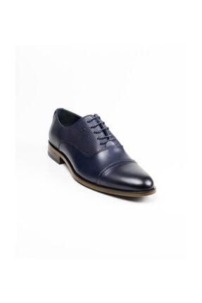 MARCOMEN Hakiki Deri 02053 Lacivert Klasik Erkek Ayakkabı Lacivert-42
