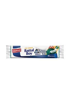 Koroplast Premium Battal Boy Büzgülü Çöp Torbası 10 Adet