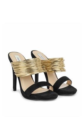 İpekyol Kadın Siyah Topuklu Sandalet IS1200031003001