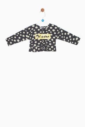 BG Baby Kız Bebek Desenli Bluz