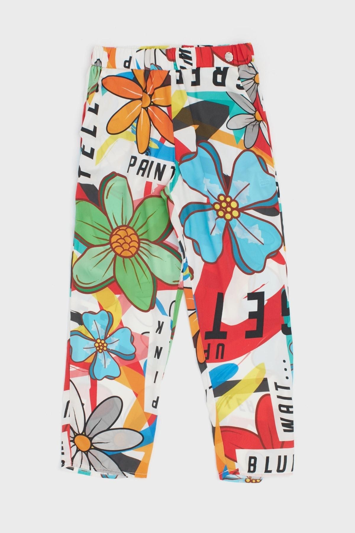 Lia Lea Kız Çocuk Desenli Pantolon 2