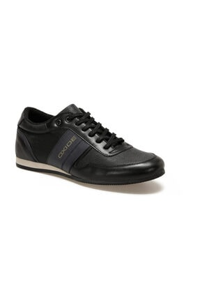 OXIDE Hakiki Deri GBS21 Siyah Erkek Casual Ayakkabı