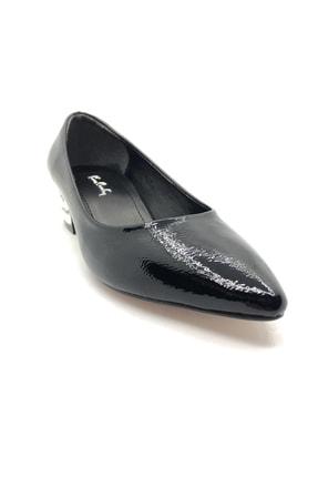 Pierre Cardin Pc-50284 Bayan Taşlı Kısa Topuk Siyah-1