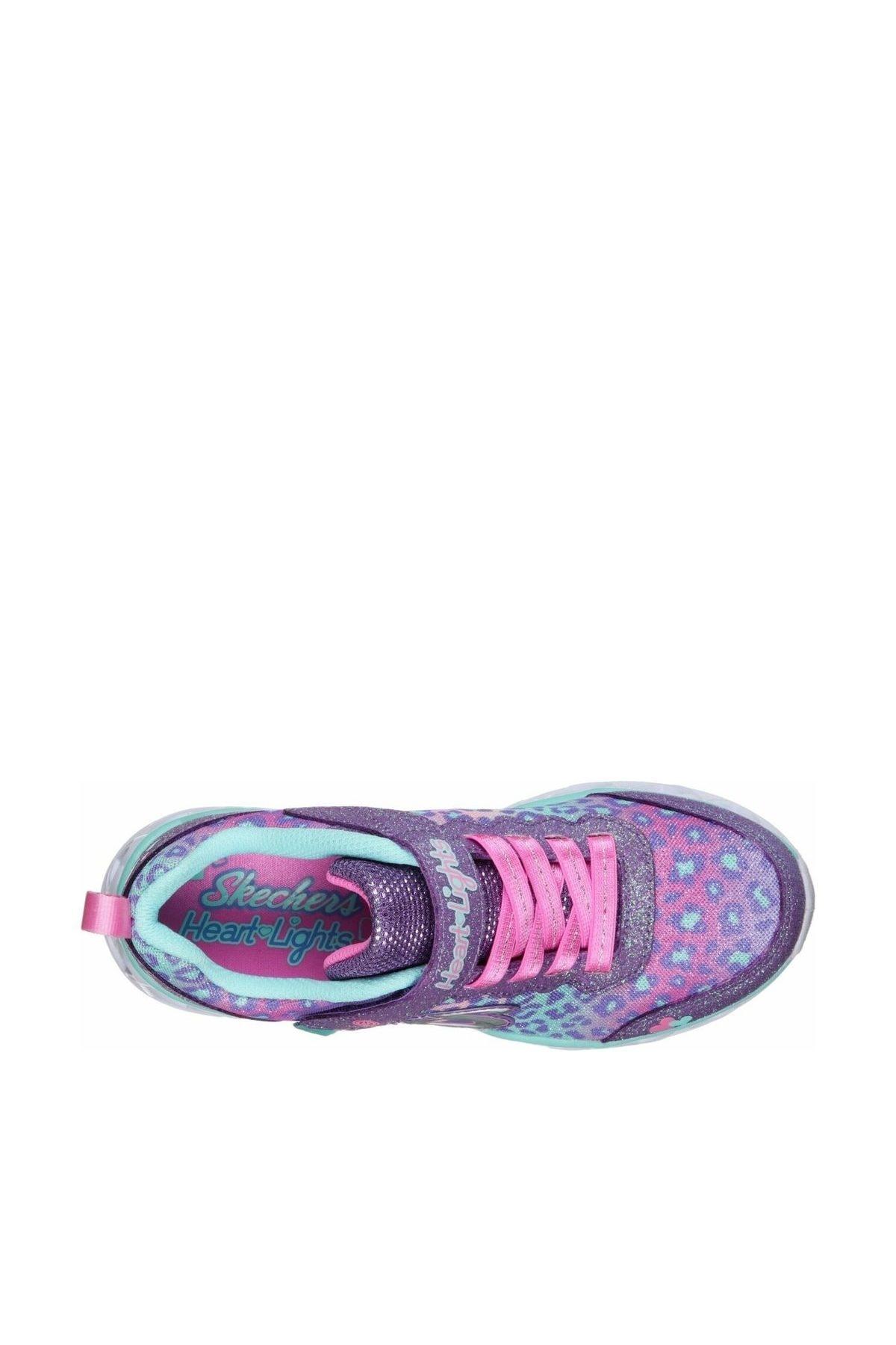 SKECHERS Büyük Kız Çocuk Mor Spor Ayakkabı 2
