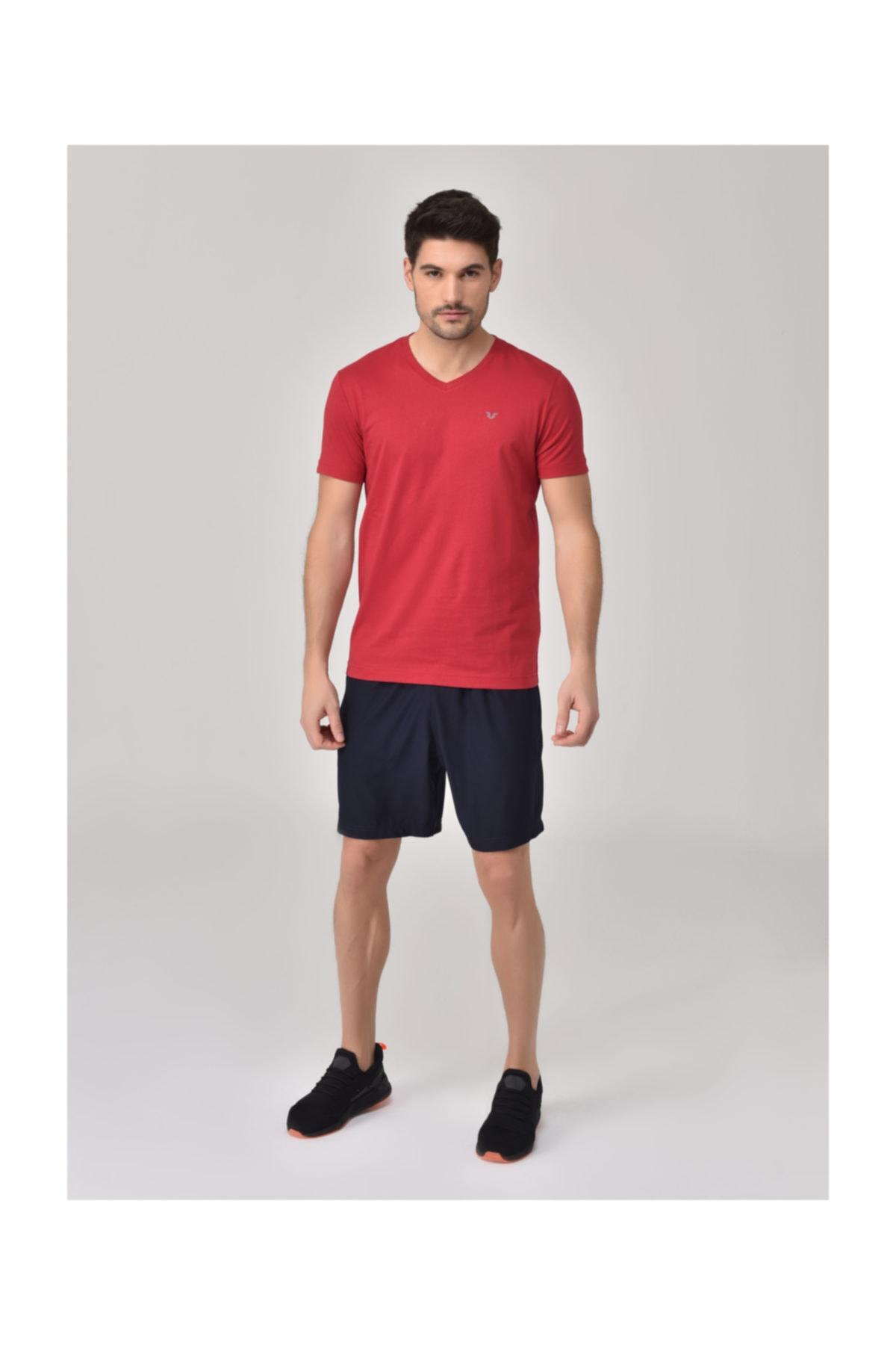 bilcee Kırmızı Erkek T-Shirt GS-8898 2