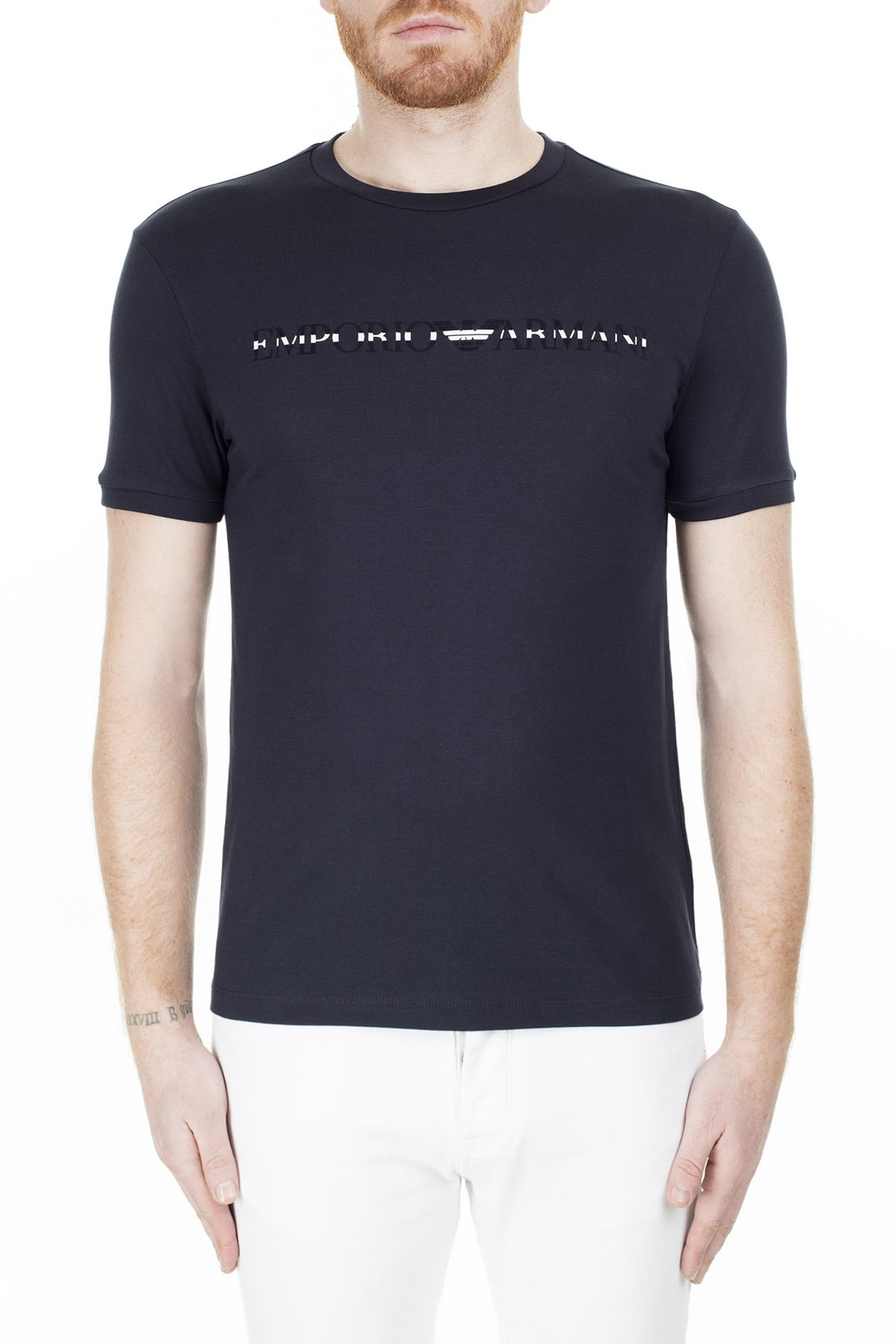Emporio Armani T Shirt Erkek T Shirt 3H1T67 1J30Z 0922