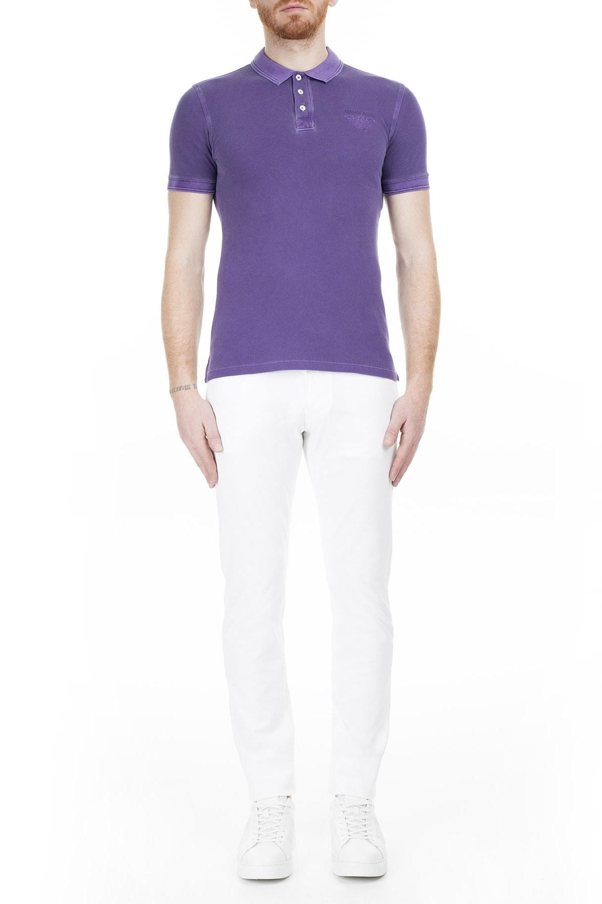 Armani Jeans Erkek Beyaz Pantolon 3Y6J06 6D18Z.1100 1