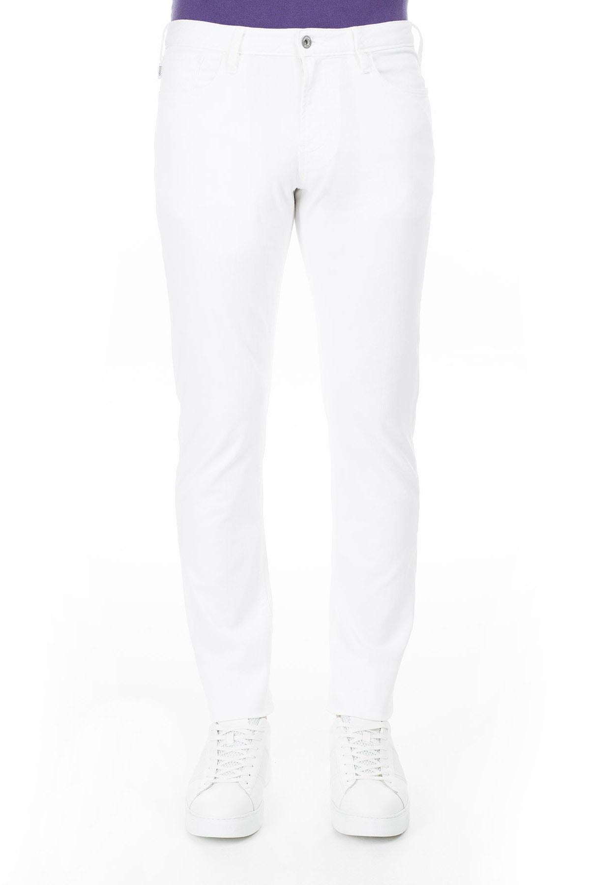 Armani Jeans Erkek Beyaz Pantolon 3Y6J06 6D18Z.1100 2