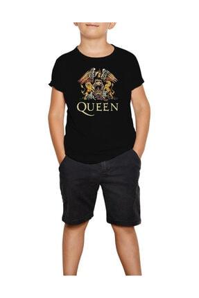 Zepplin Giyim Ultimate Best Of Queen Siyah Çocuk Tişört