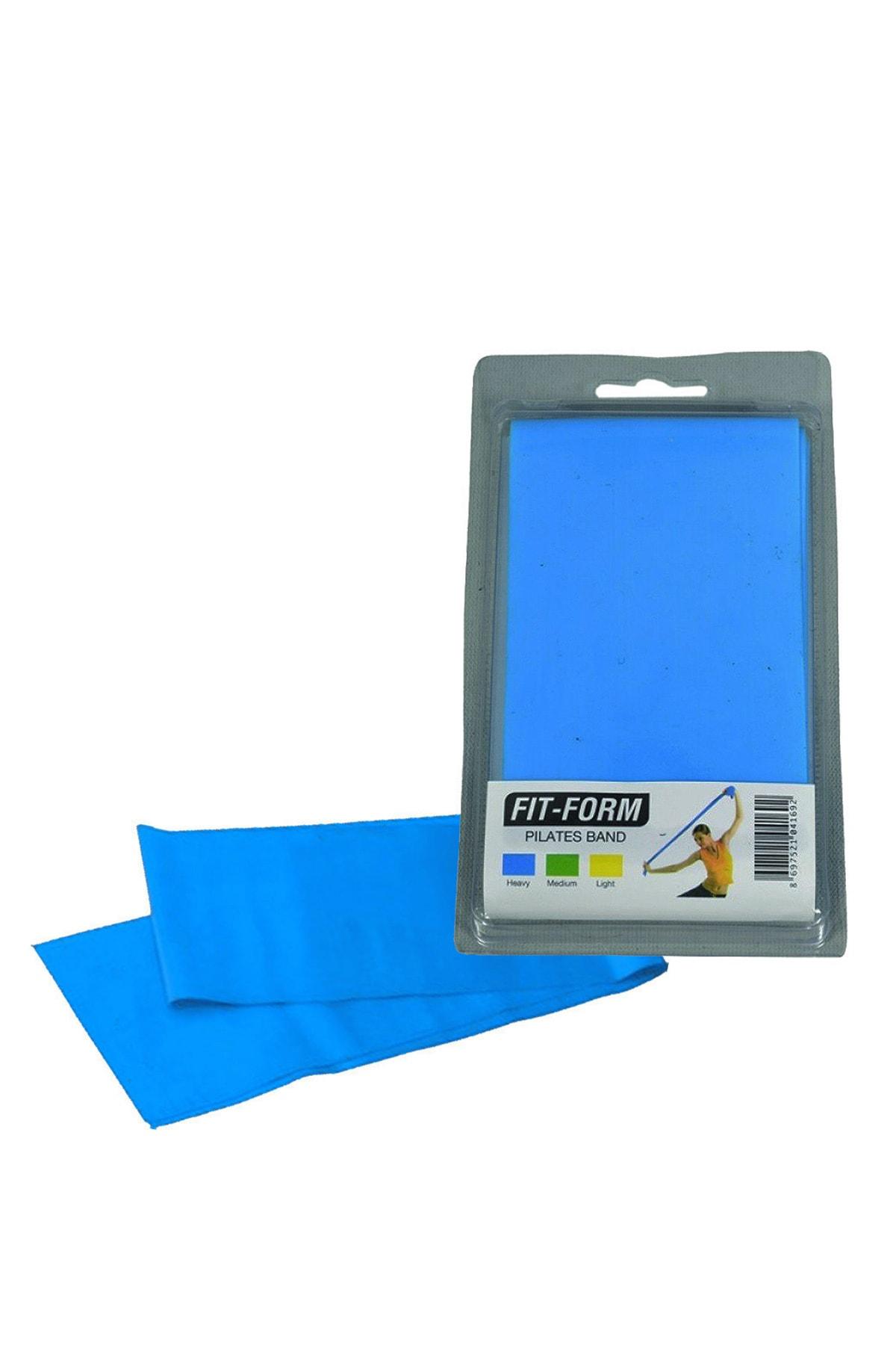 AVESSA Fitform Pilates Lastiği Mavi Sert Direnç 1