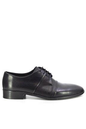 MARCOMEN Hakiki Deri Erkek Klasik Ayakkabı Siyah 20y 5095