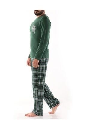 Doremi Erkek Yeşil Pijama Takımı