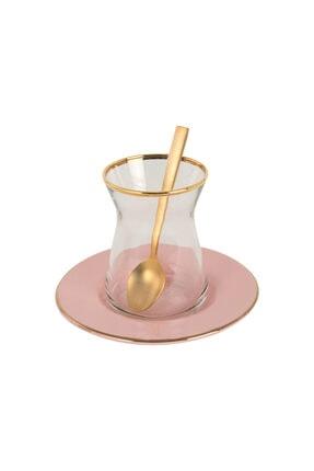 Bella Maison Allure Pudra Çay Bardağı Seti 6′lı