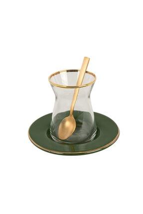 Bella Maison Allure Haki Çay Bardağı Seti 6′lı