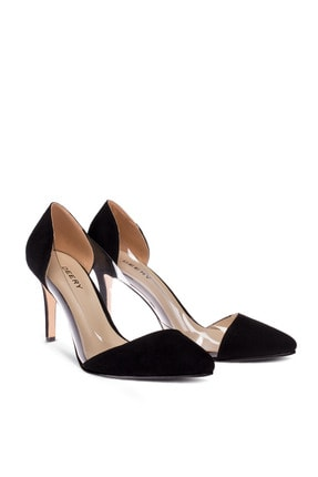 Deery Siyah Topuklu Kadın Ayakkabı